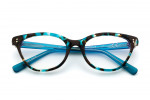 Turquoise/Brown Tortoise Shell