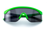 Green Satin - Black Glass Full
