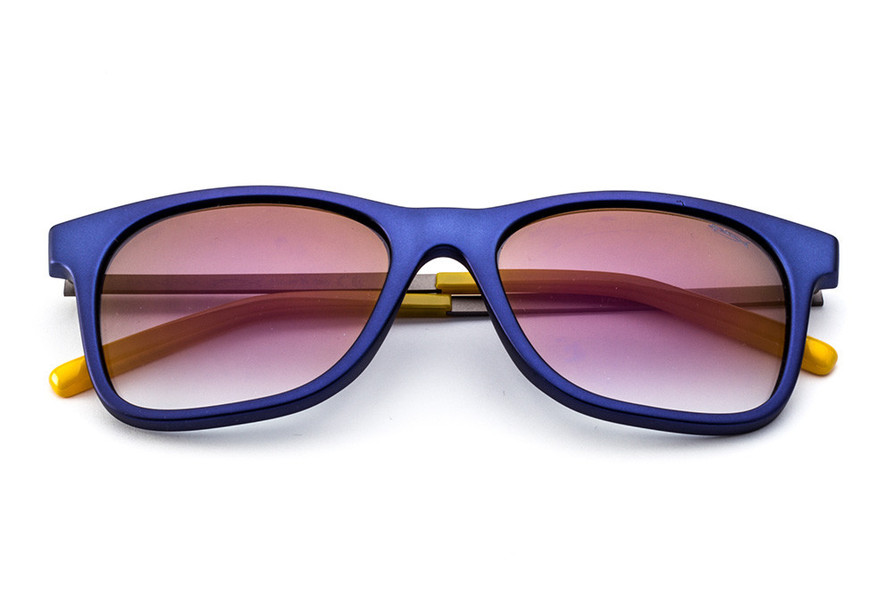 Metallic Blue - Violet Flashed Lens