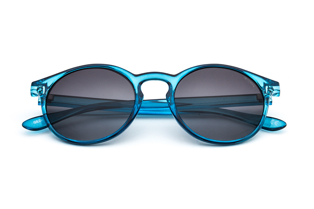 Turquoise - Grey Lens