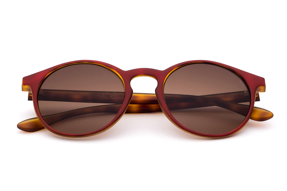 Tortoise Shell/Red - Brown Lens