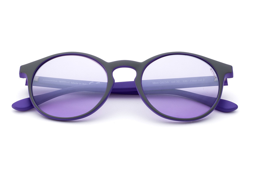 Grey/Lavender - Flashed Lilac Lens
