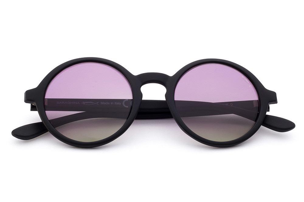 Black - Violet/Yellow Lens