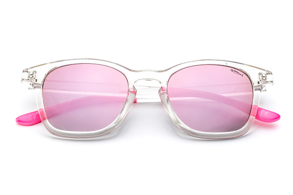 Crystal - Pink Mirrored Lens