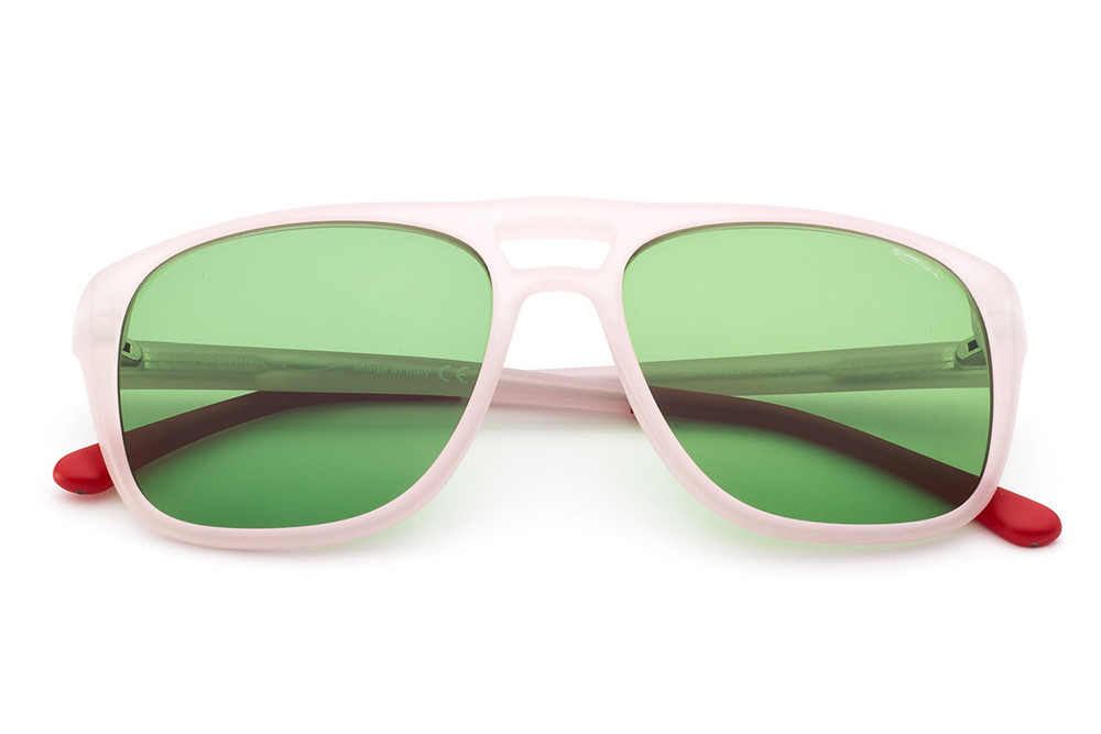 Pink - Light Green Lens