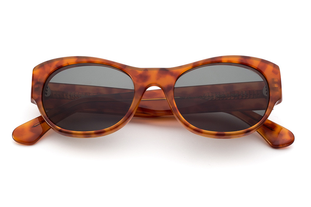 Tortoise Shell - Green Lens