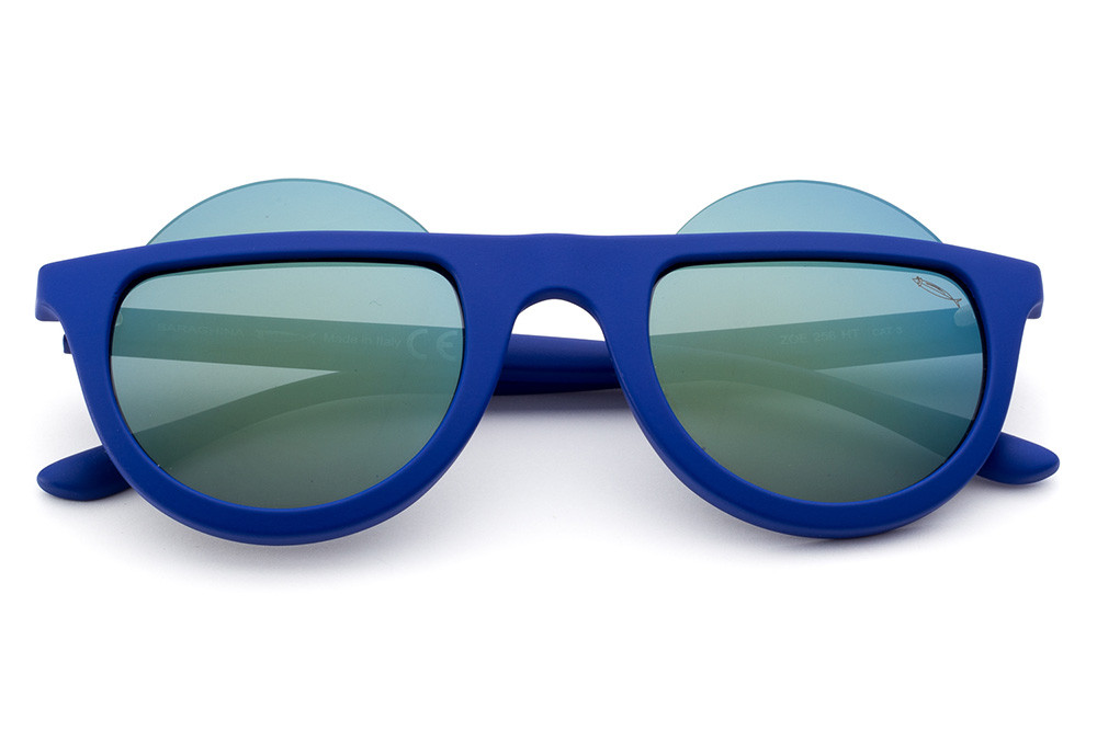 Electric Blue - Green/Blue Flashed Lens