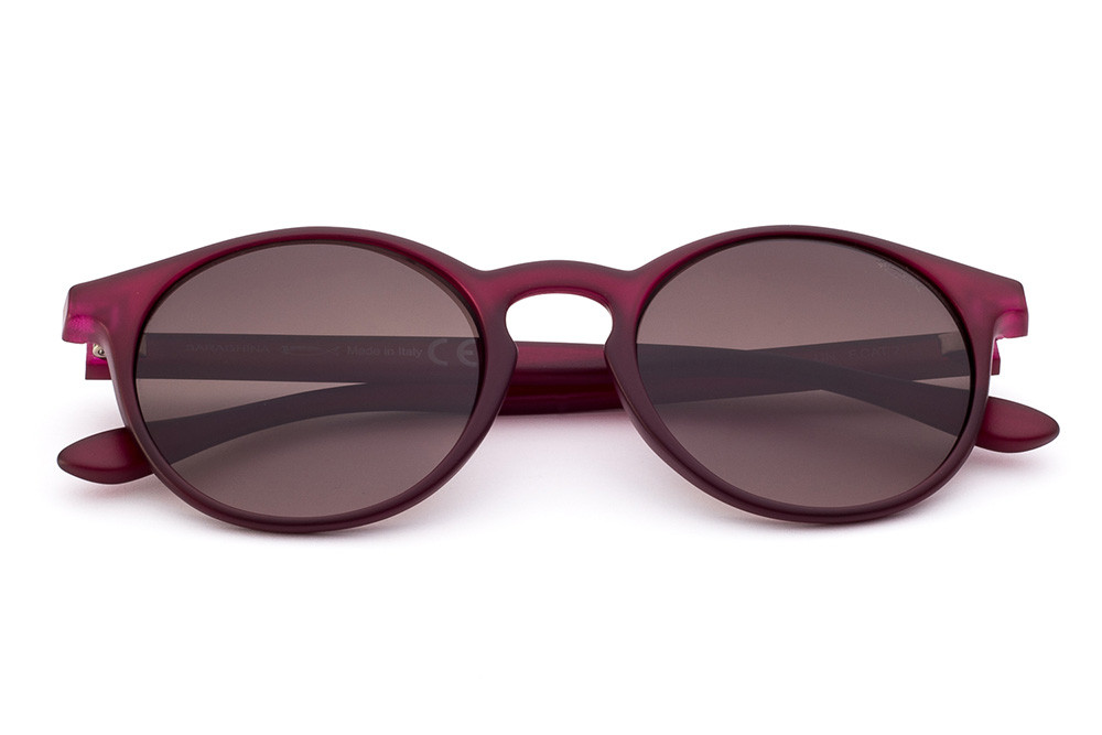 Burgundy - Shaded Brown Lens