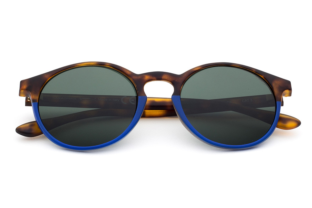 Tortoise Shell/Blue - Green Lens