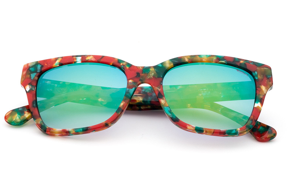 Multicolor - Green Flashed Lens