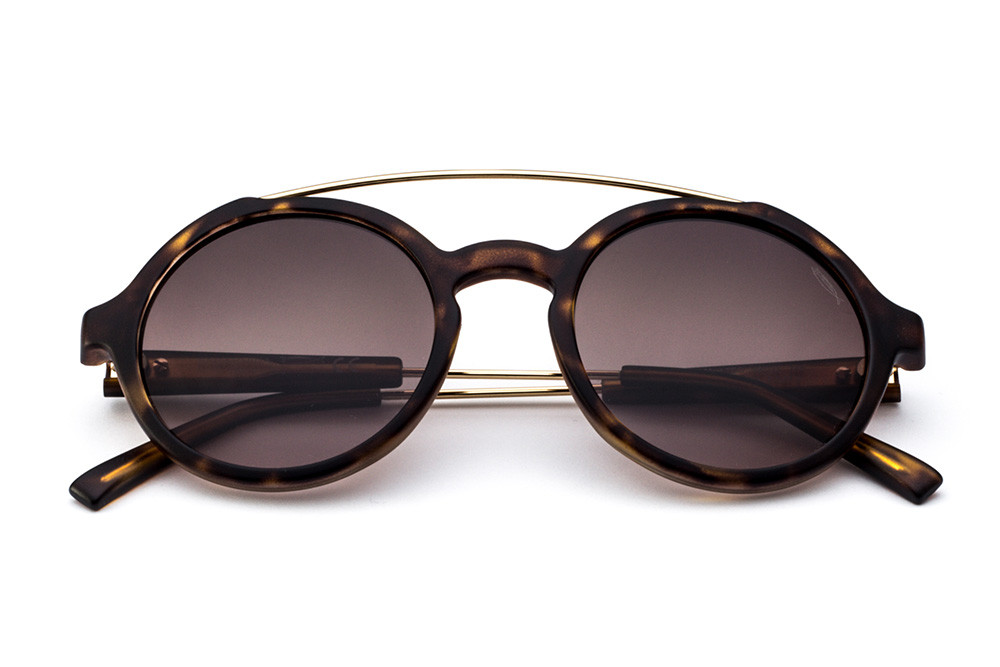 Tortoise Shell - Shaded Brown Lens