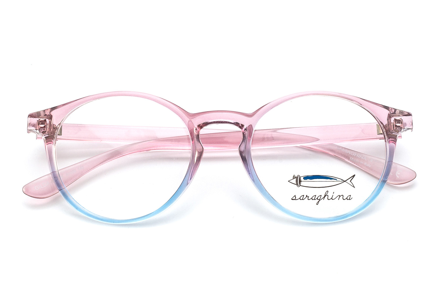 gilda-frames-crystal pink shaded blue