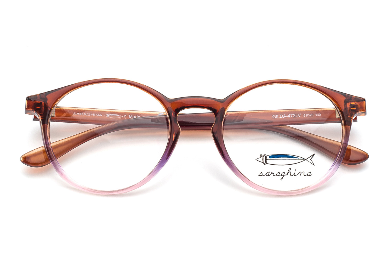 gilda-frames- tobacco pink shaded