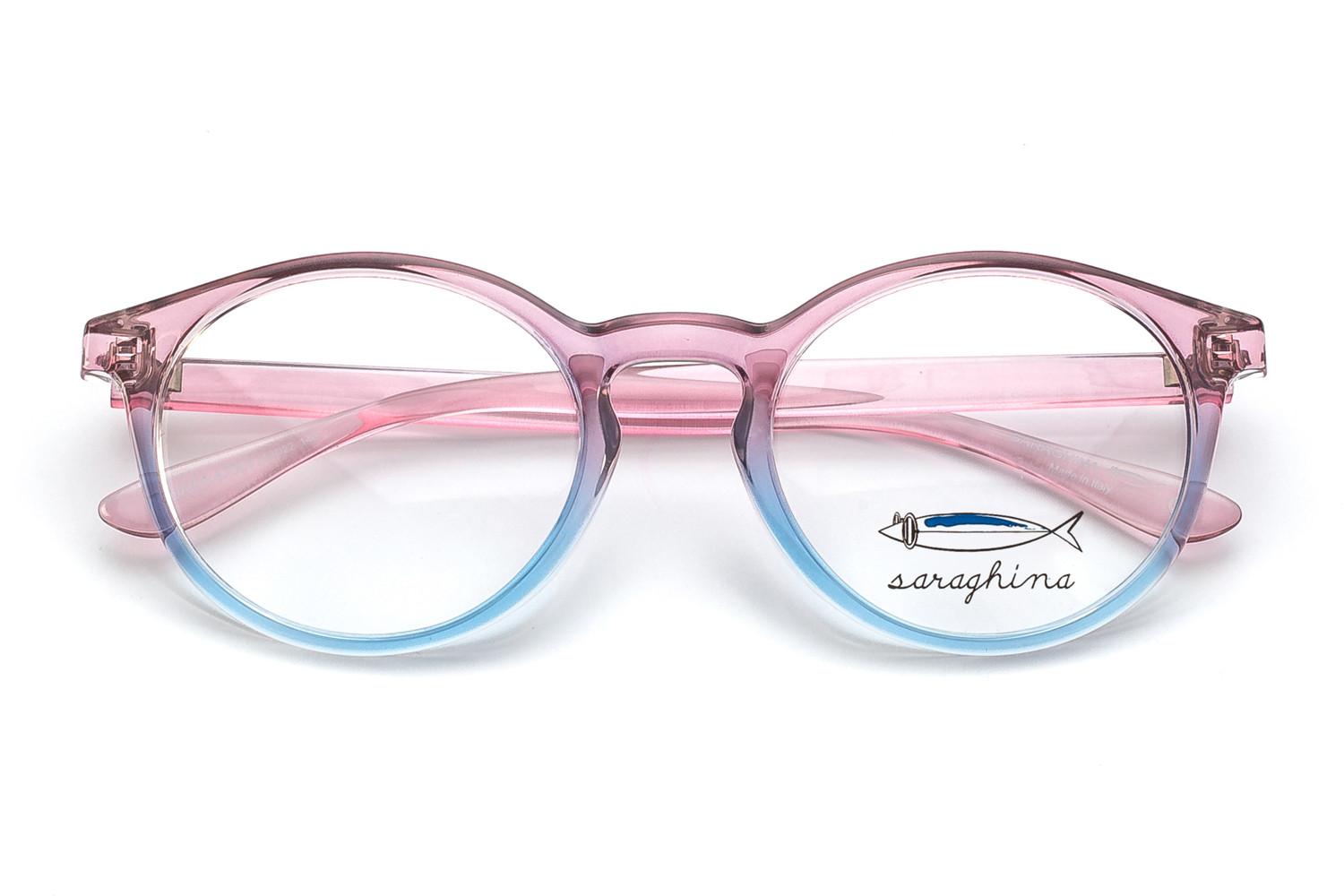 gilda-frames-crystal pink shaded light blue